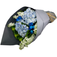 Blue Flowers Bouquet