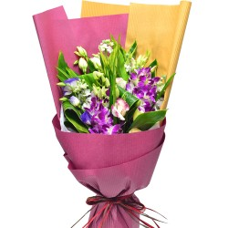 Thailand Orchids Bouquet Valentines Day